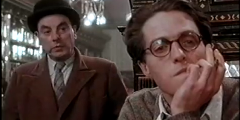 Dublin pubs in film: Hugh Grant in The Long Hall