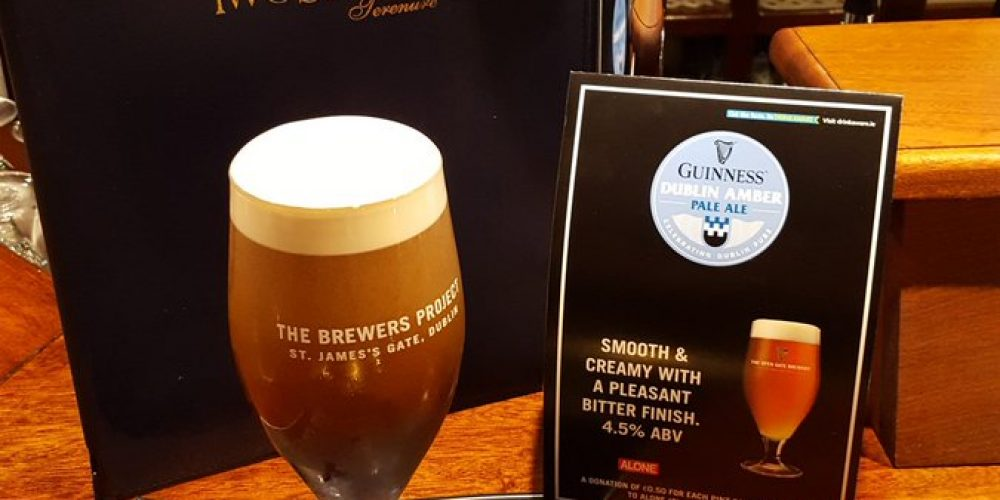 The LVA and Guinness have launched a 200th anniversary beer.