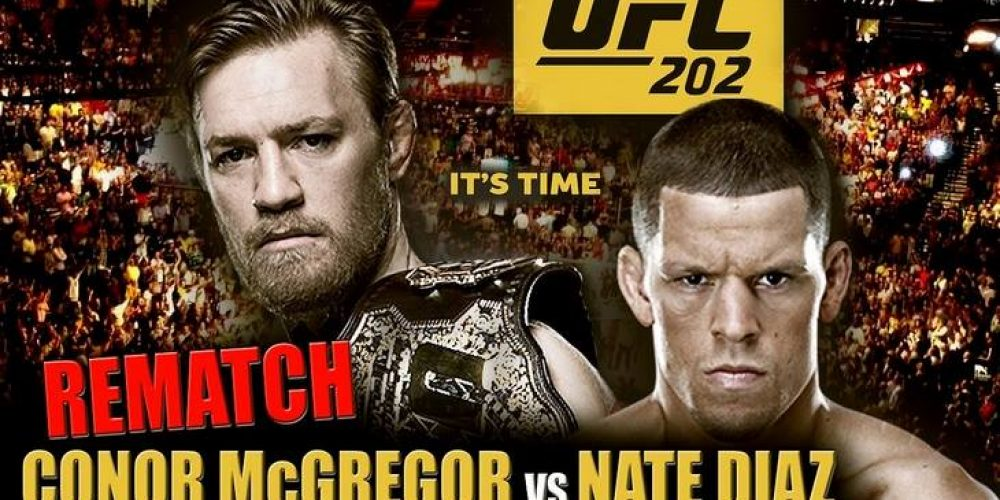 Here's where you can watch the McGregor v Diaz fight.